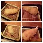 新宿 立吉 - 湯葉・・美味しい。  蟹のツメ・・結構身が入っています。