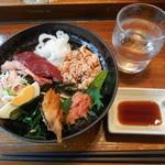 若狭家 - お値打ち丼¥390-