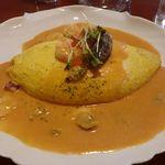 プランツ - 料理写真:タラコのオムライス大盛り
