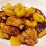 咸亨酒店 - 鶏肉と栗の醤油煮