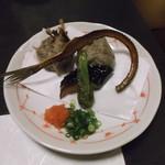 食楽魚一 - コース5 すり身揚げ