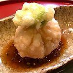 26106314 - 本日の逸品、胡麻豆腐の揚げ物
