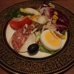 レストラン アラスカ - サラダバーで取ったサラダ