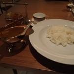 レストラン アラスカ - アラスカ特製 黒毛和牛のビーフカレー