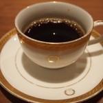 レストラン アラスカ - 食後のコーヒー