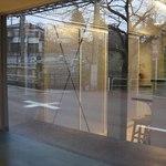 カフェ ステーション - 窓際カウンター右側(桜並木が良く見えます)