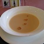 テリーヌ・フレンチレストラン - コーンスープ