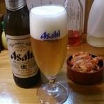油坊主 - ビールとおつまみキムチ