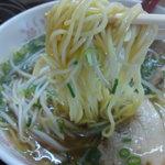 らーめん 川當 - ラーメンの麺です