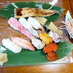 寿し松 - 料理写真:特選おまかせにぎり