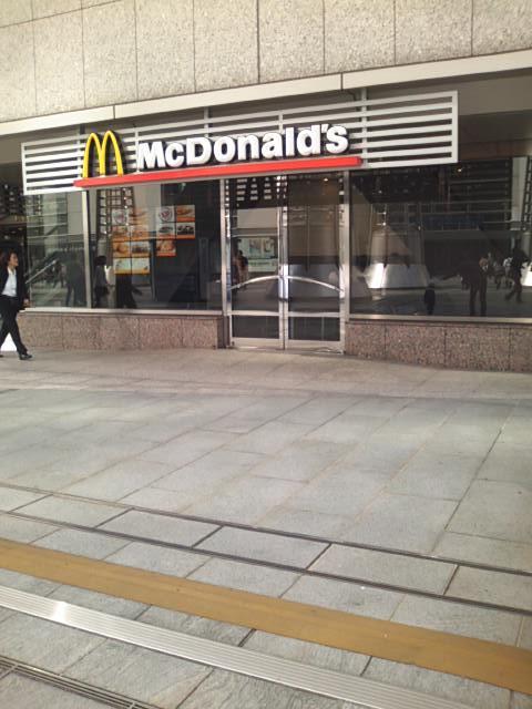 マクドナルド ランドマークプラザ店