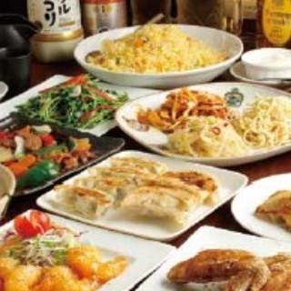 大好評の日本橋焼餃子の宴会コースはいかかですか?
