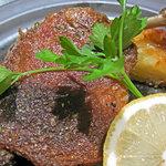 アンブロッシェ - 鴨モモ肉のコンフィ、ぱりぱり焼き