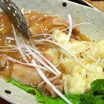 アンブロッシェ - ポテトニョッキの肉じゃが風