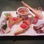フランコベルゴ - プチディナーコースの前菜盛り合わせ