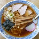 福家そばや - 1番人気のワンタンメン730円