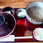 いづみや - 丹波黒どり親子丼蕎麦膳