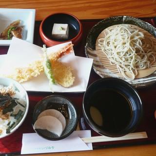 いづみや - 料理写真:天ざる蕎麦膳