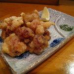 でんすけ - タコ唐揚げ&青海苔塩