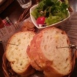カフェ デラ ドンナ - 日替わりサンドイッチ