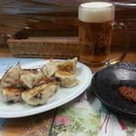 26141115 - 餃子とビール