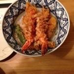 天ぷら新宿つな八 - 大海老天丼!