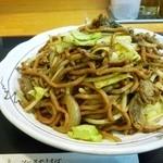 たけしや - やきそば(肉と野菜)+旨からソース