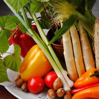 新鮮野菜は産地直送・・・