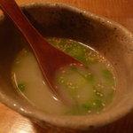 鶏屋 國型製作所 - ☆はずせないメニューの鶏スープ!(^^)!☆