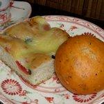 ブーランジェリー・ブルディガラ - フォカッチャ、トマトのパン