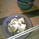 柳茶屋 - わらびもちとお抹茶セット