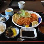 食事処はやし田 - ヒレカツ定食