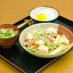 我部祖河食堂 - 野菜チャンプルー定食