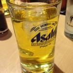 浅草 ときわ食堂 - 緑茶ハイ490円