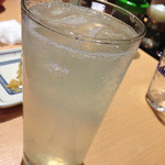 浅草 ときわ食堂 - 生レモンサワー490円