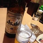 浅草 ときわ食堂 - 瓶ビール(大)570円