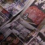 26189583 - スポーツ新聞風のメニュー