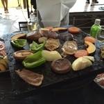 ぶどうの丘 バーベキューガーデン - 牛肉と豚肉