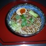 阿蘇の風 - こんがり焼き上げた鶏肉と焼きネギ、半熟玉子の共演。