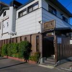 松庵 - 北名古屋市「高田寺」交差点近く、割と小さなお店です