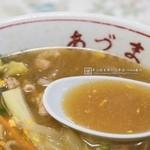 あづま - スタミナラーメン:スープ