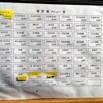 天ぷらそば ふくろう - 2014年4月:店頭の券売機のボタンの配置の案内です