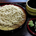 天ぷらそば ふくろう - 2014年4月:もりそばです