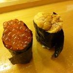 幸寿司 - いくら、うに(2014.4.11)