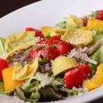 シンプルキッチン - 7種野菜とアボカドの彩りサラダ