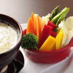 シンプルキッチン - 季節野菜のバーニャカウダ