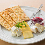 チーズの3種盛り