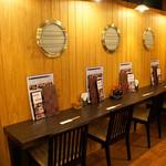 元祖 海鮮市場 えびす丸熊本総本店 - 女性お一人様でも 気兼ねなく食事を楽しめます