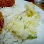 はなかつ亭 - ポテトサラダ