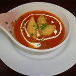 エベレスト&富士 - トマトスープ